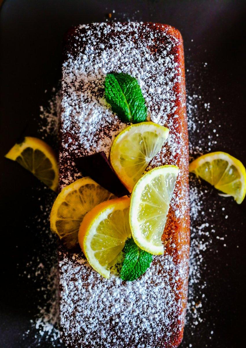 """Cake citron gluten-free de """"Mémé Charlotte"""""""