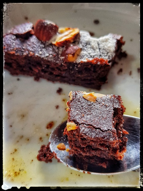 brownies au chocolat